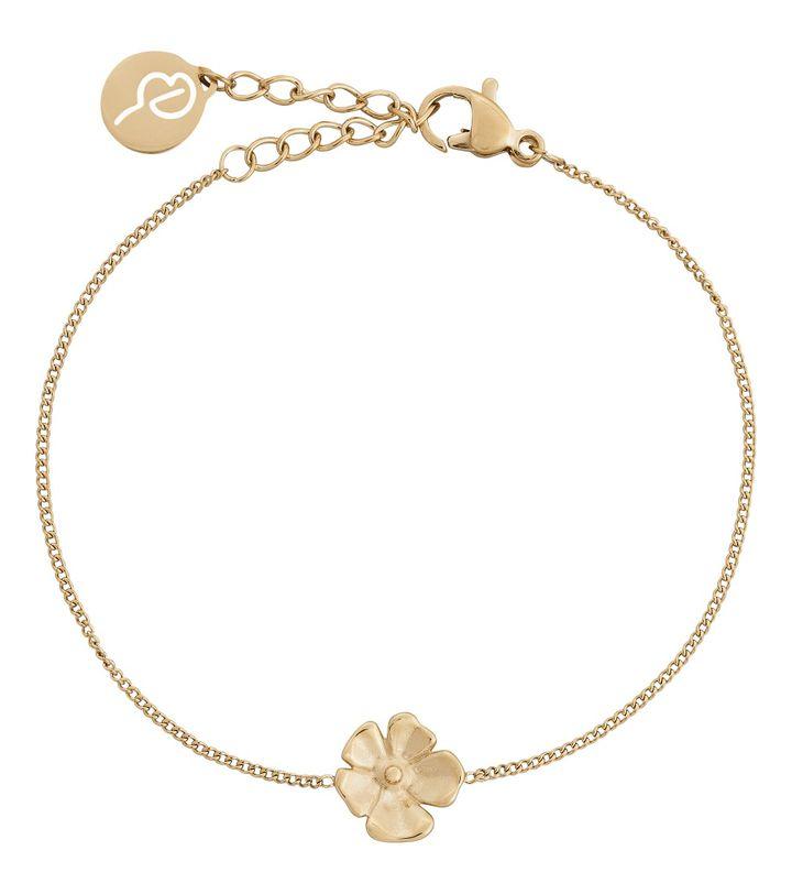 Floral Bracelet Gold