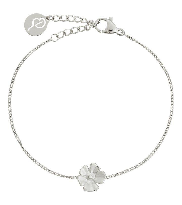Floral Bracelet Steel