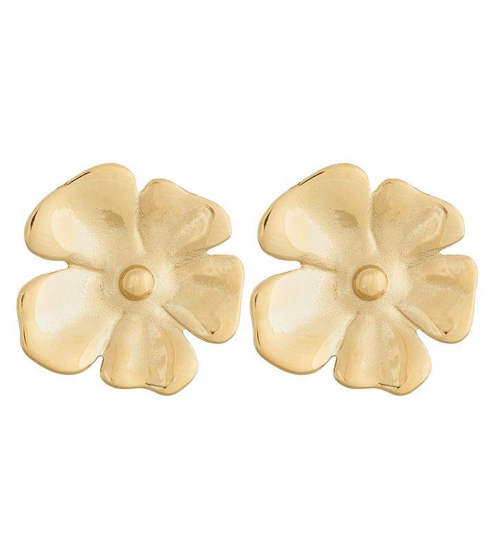 Floral Studs L Gold