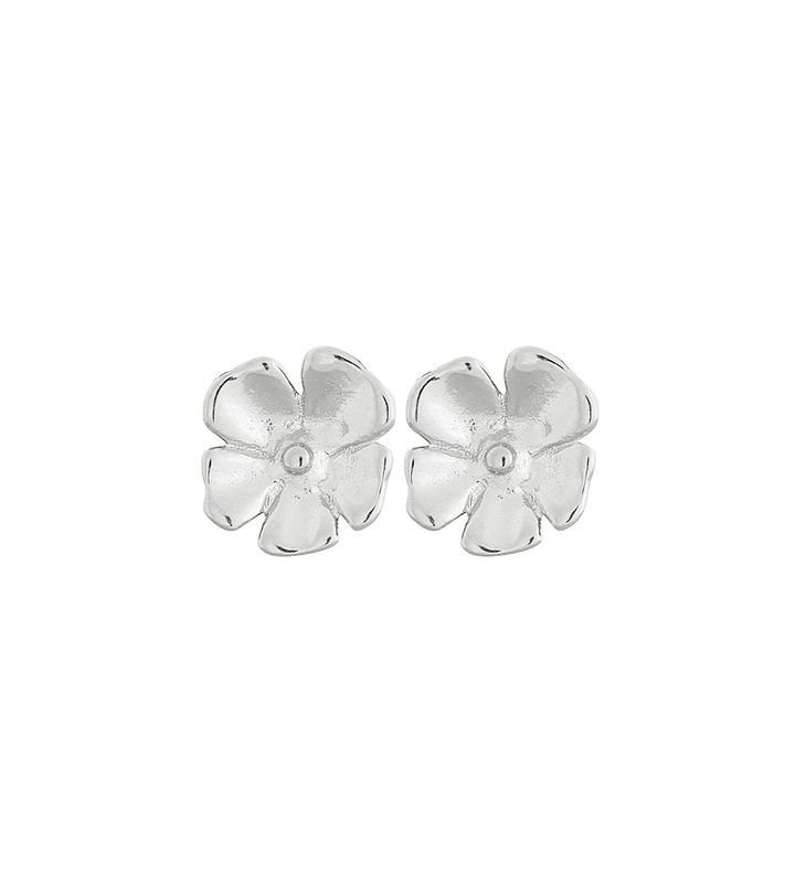 Floral Studs S Steel