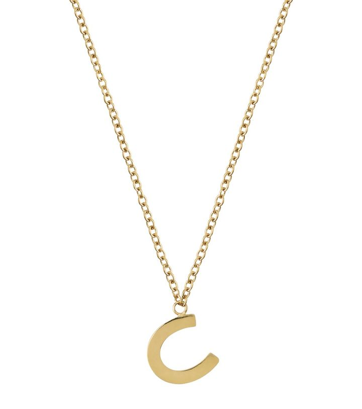 Fortune Mini Necklace Gold