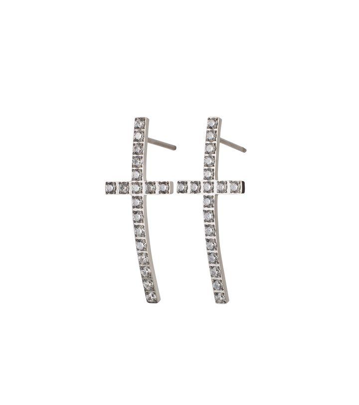 Glory Earrings Steel