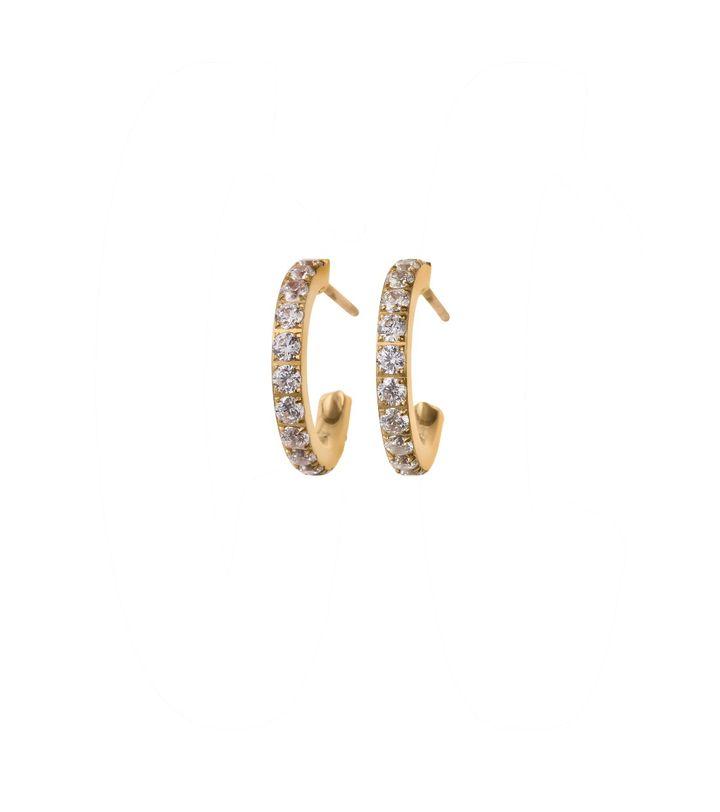 Glow Earrings Gold