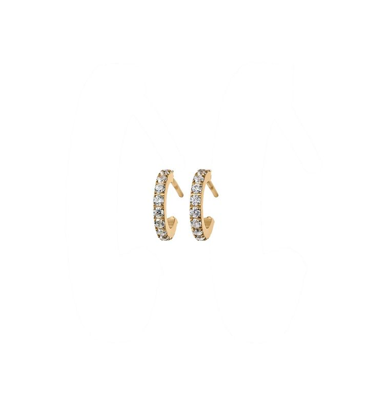 Glow Earrings Micro Gold S