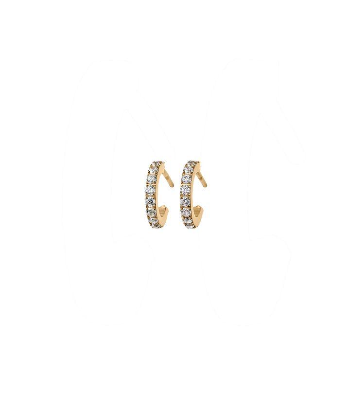 Glow Earrings Mini Gold