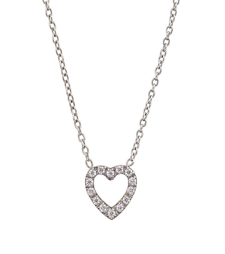 Glow Heart Necklace Steel