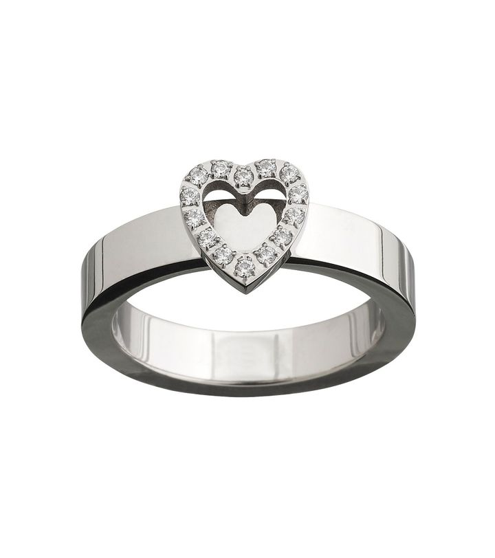 Glow Heart Ring Steel