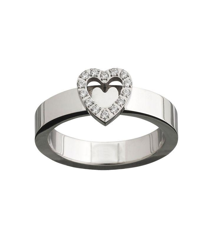 Glow Heart Ring Steel