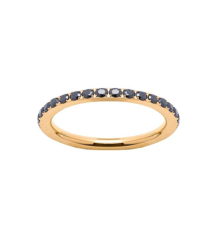 Glow Ring Black Gold