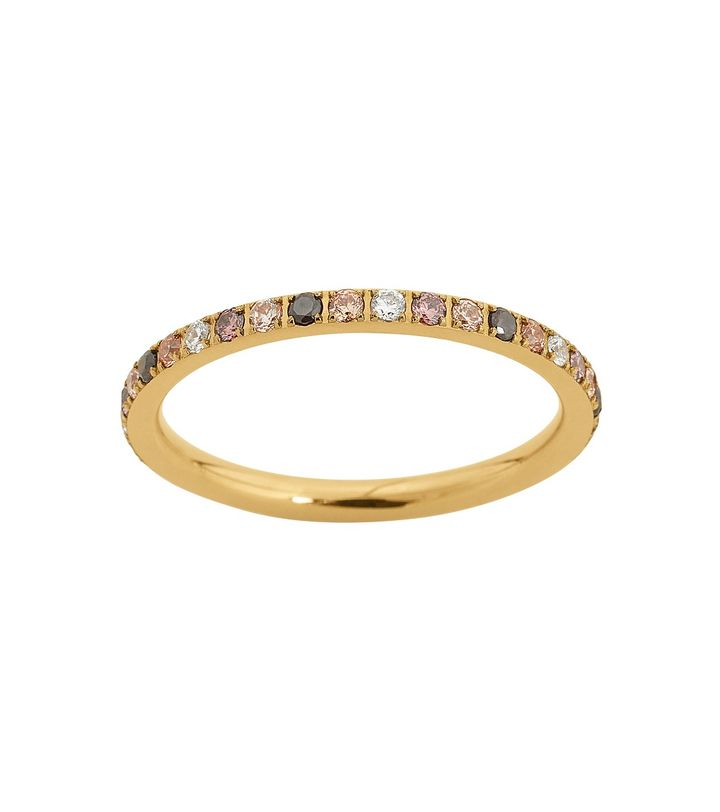 Glow Ring Mini Multi Gold