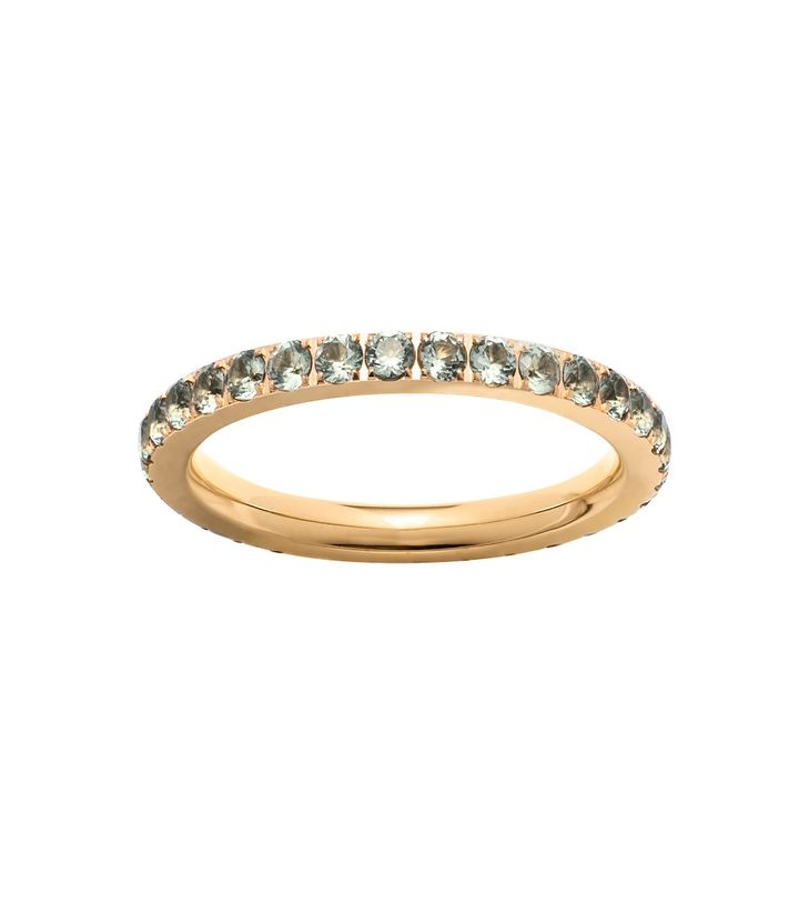 Glow Ring Olive Gold