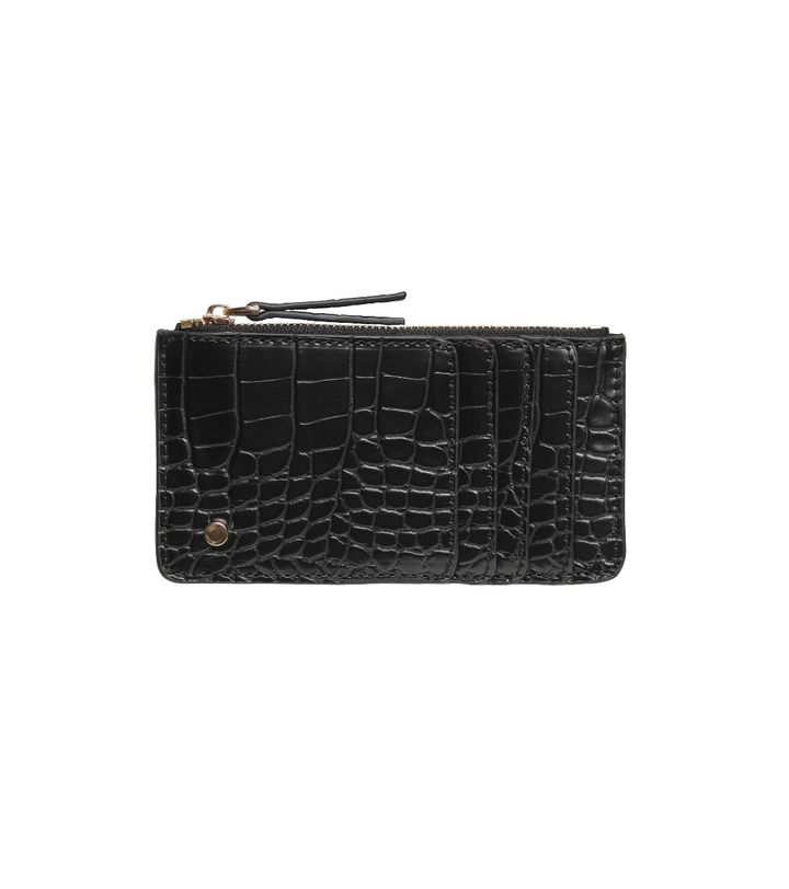 Grace Zip Cardholder Black