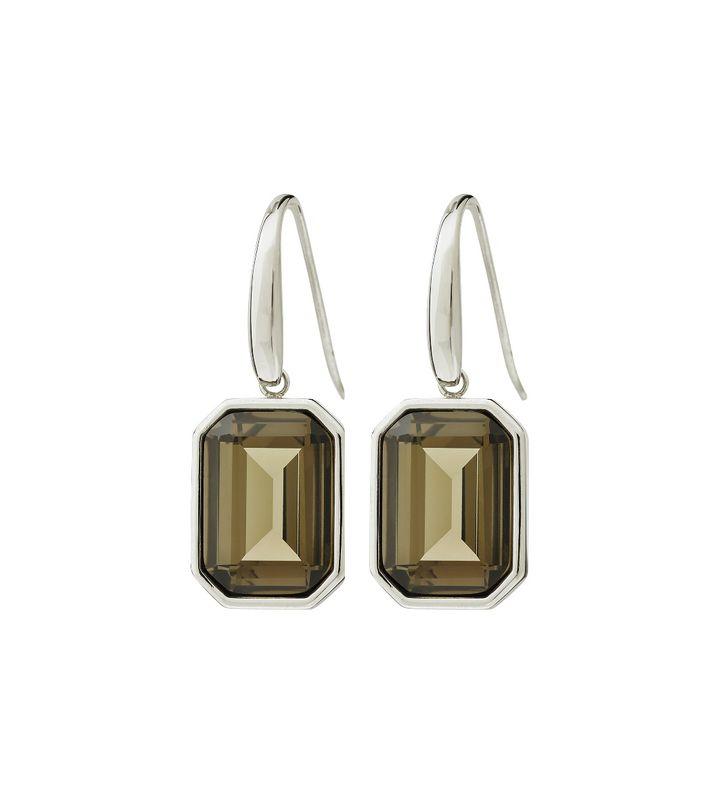 Grand Earrings Wintergreen Steel