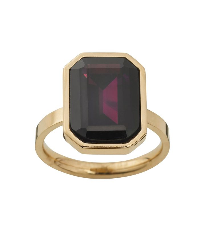 Grand Ring Plum Gold