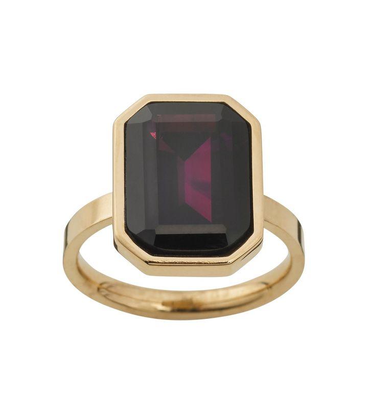 Grand Ring Plum Gold