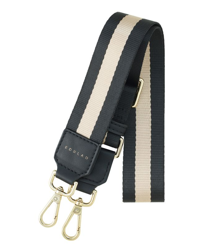 Highway Webbing Strap Stripy Gold