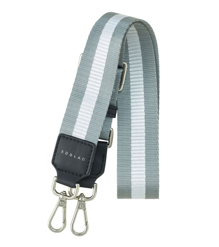 Highway Webbing Strap Stripy Steel