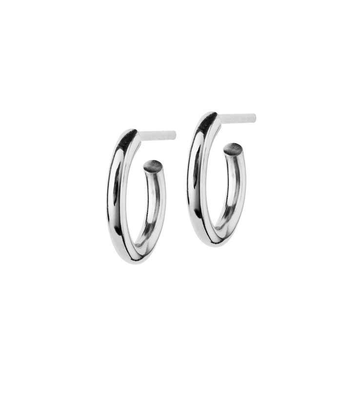 Hoops Earrings Steel Small