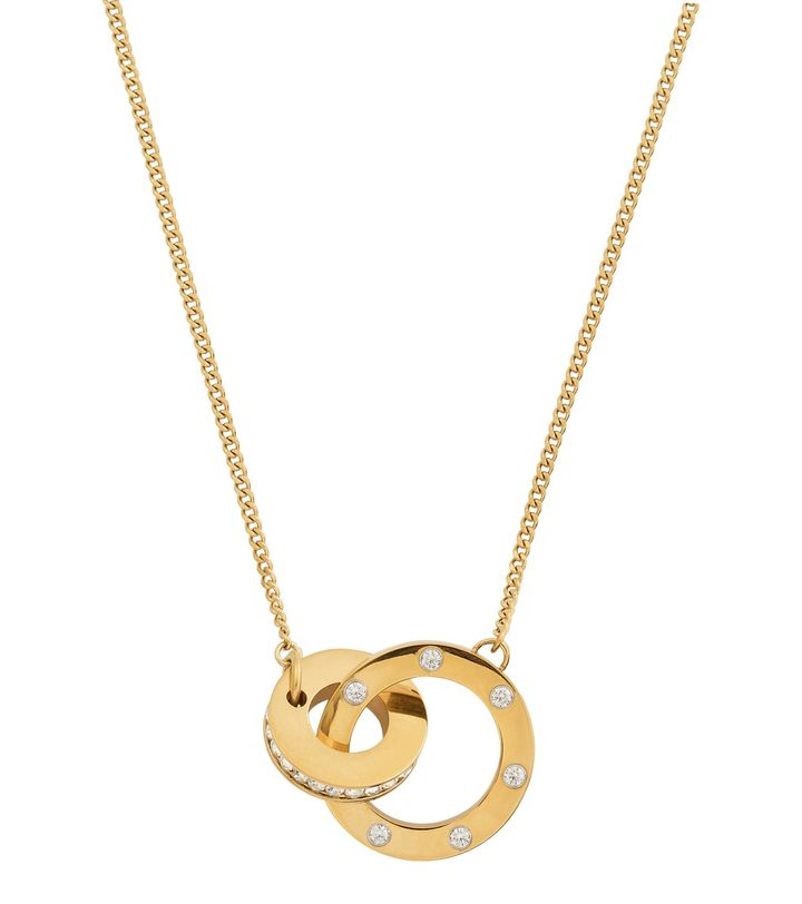 Ida Necklace Short Gold