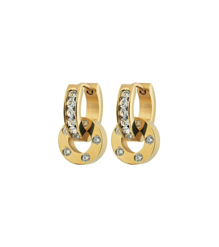 Ida Orbit Earrings Gold