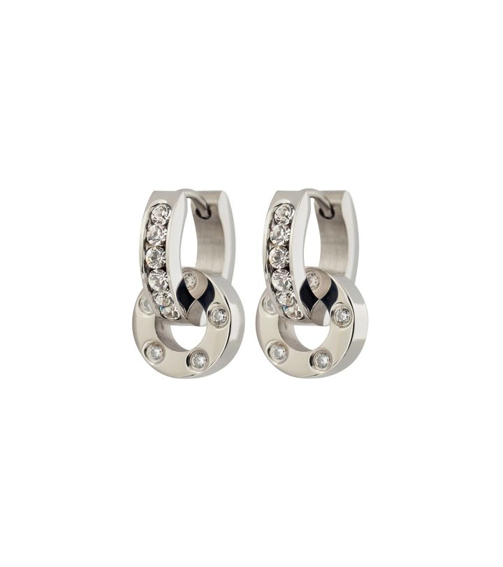 Ida Orbit Earrings steel