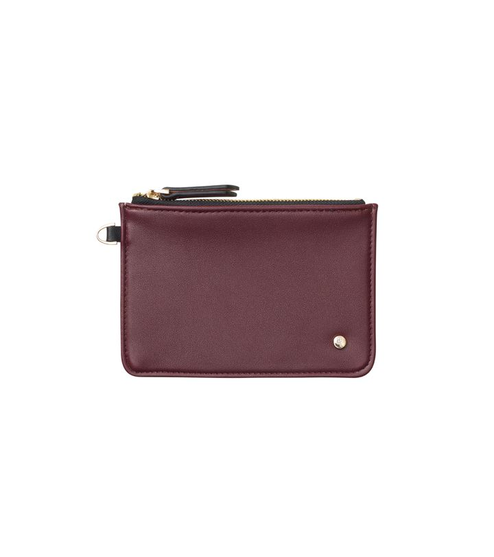 Irene Mini Pouch Bordeaux/Dusty Pink