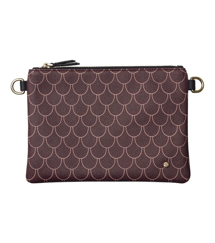 Irene Small Bag Tiles Bordeaux