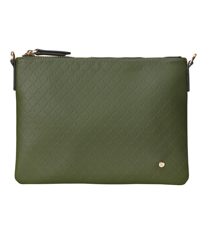 Irene Small Bag Tiles Embossed Forest