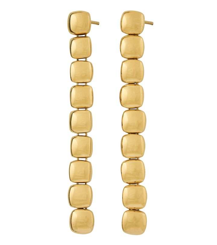 Isle Earrings Long Gold
