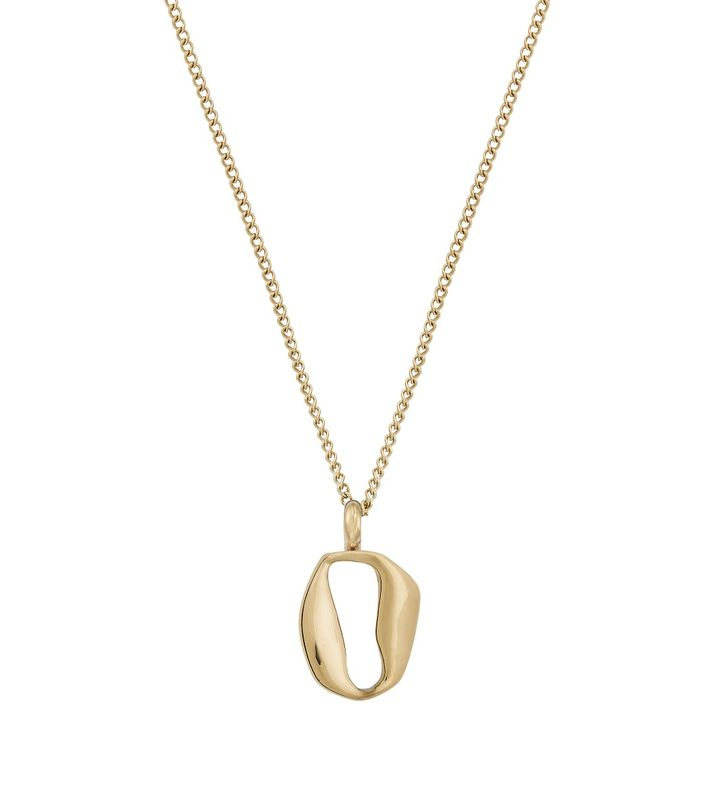 Karla Necklace Short Gold