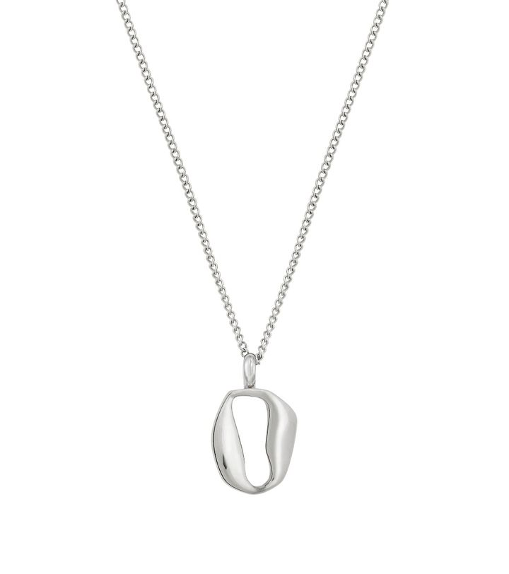 Karla Necklace Short Steel