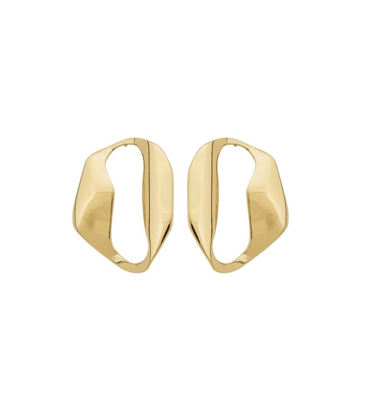Karla Studs Large Gold