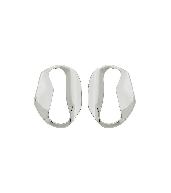 Karla Studs Large Steel