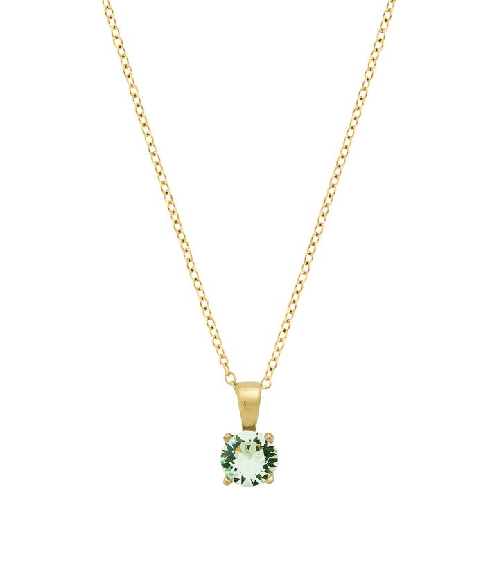 Leonore Necklace Leaf Gold