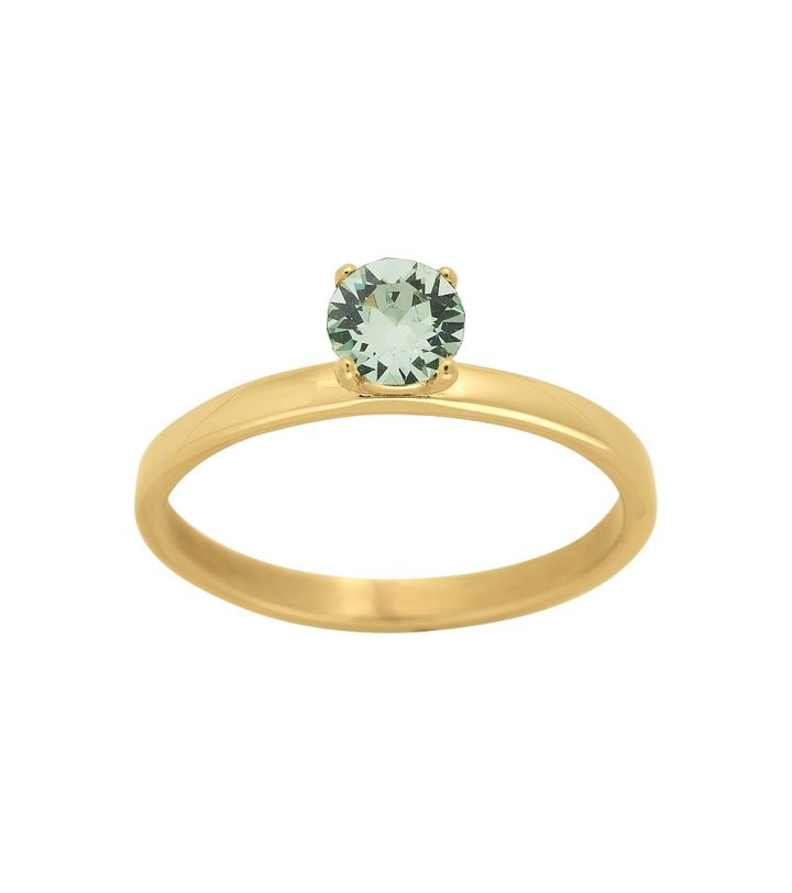 Leonore Ring Leaf Gold