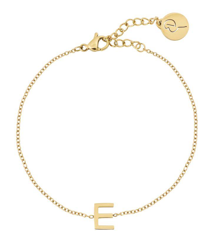 Letter Bracelet A-Ö Gold
