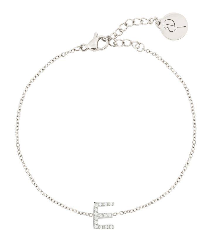 Letter Bracelet A-Ö Steel