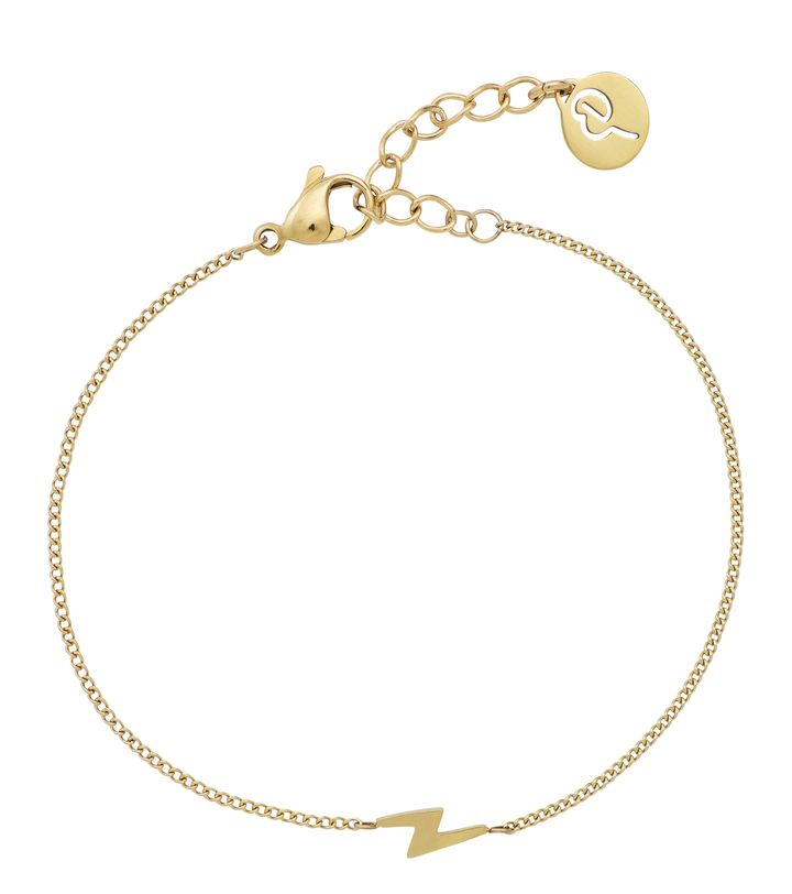 Lightning Mini Bracelet Gold
