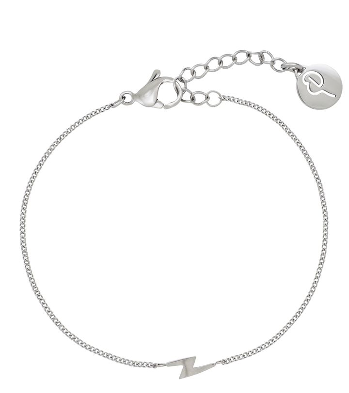 Lightning Mini Bracelet Steel