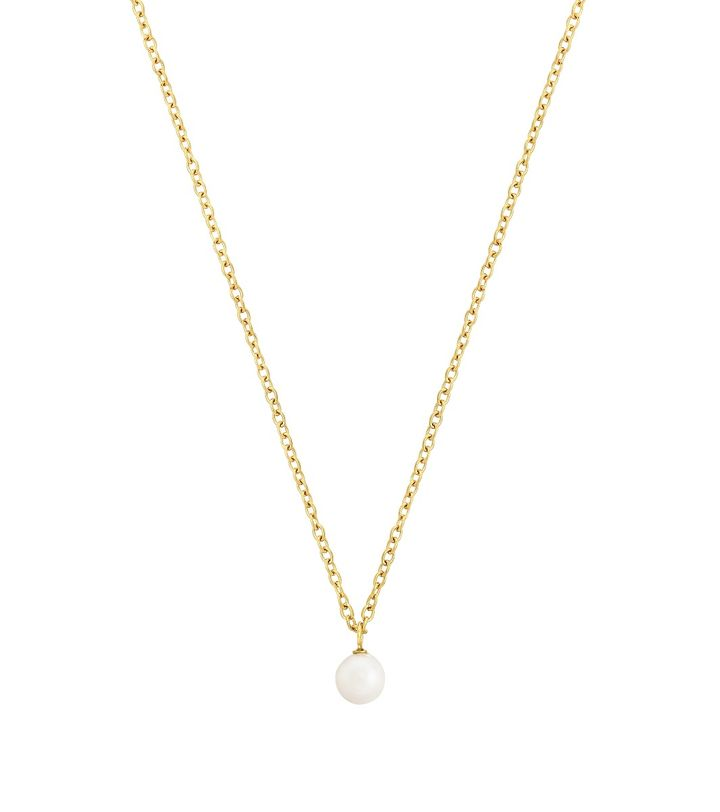 Lilian Necklace M Gold