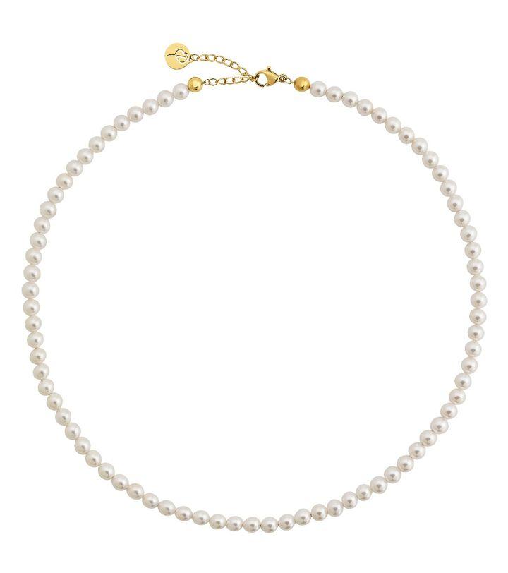 Lilian Necklace Multi M Gold