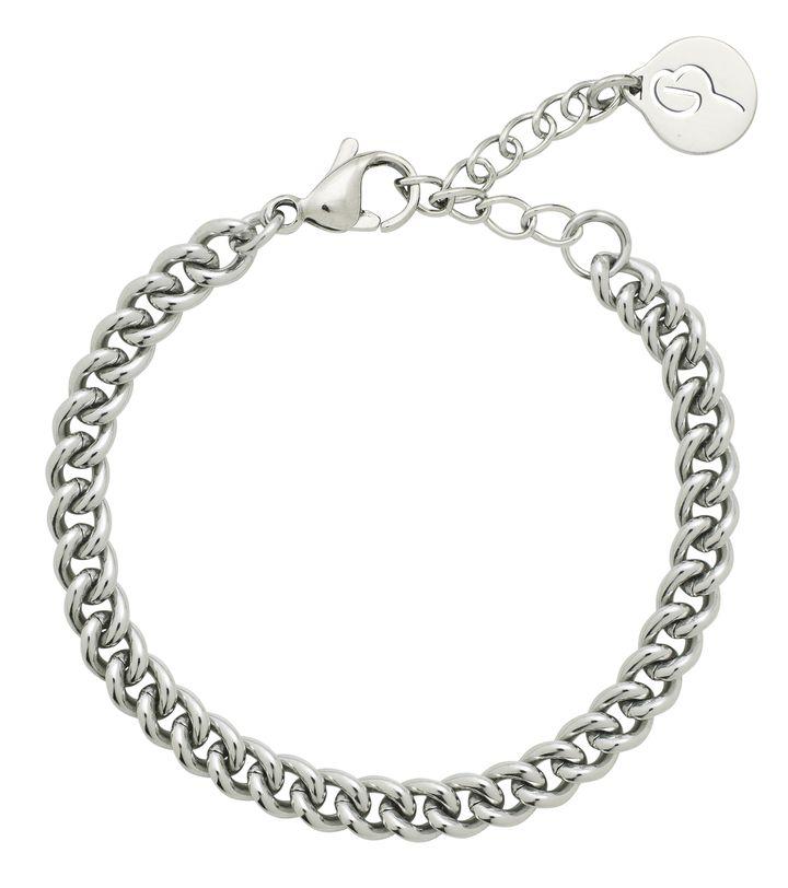 Lourdes Chain Bracelet Steel