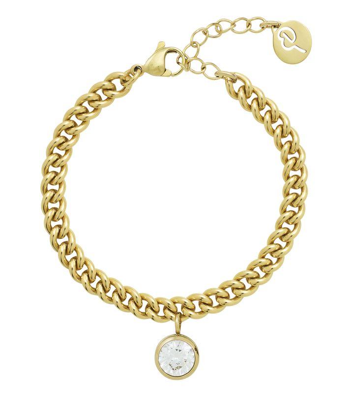 Lourdes cz Bracelet Gold
