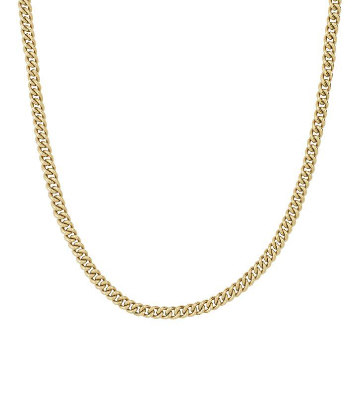 Lourdes Chain Necklace Gold