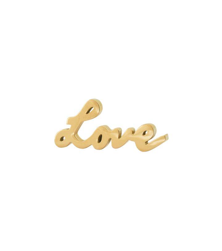 Love Brooch Gold