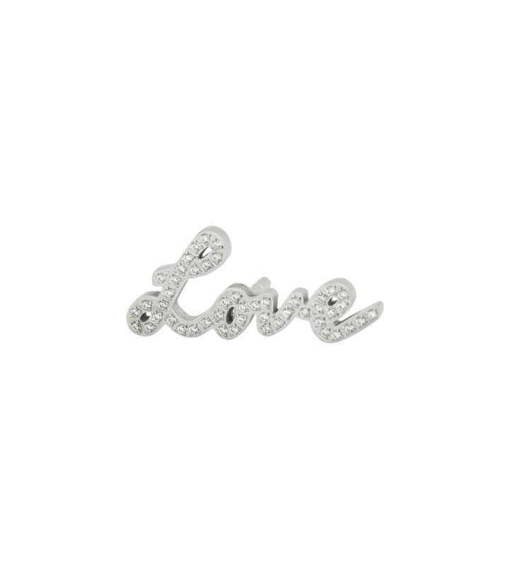 Love Brooch Steel