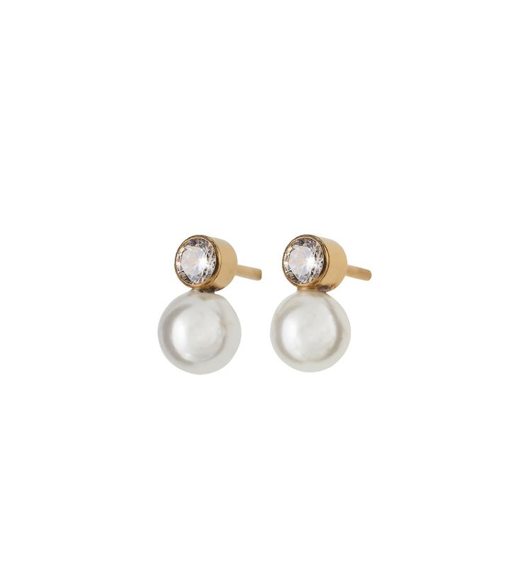 Luna Studs Small Gold