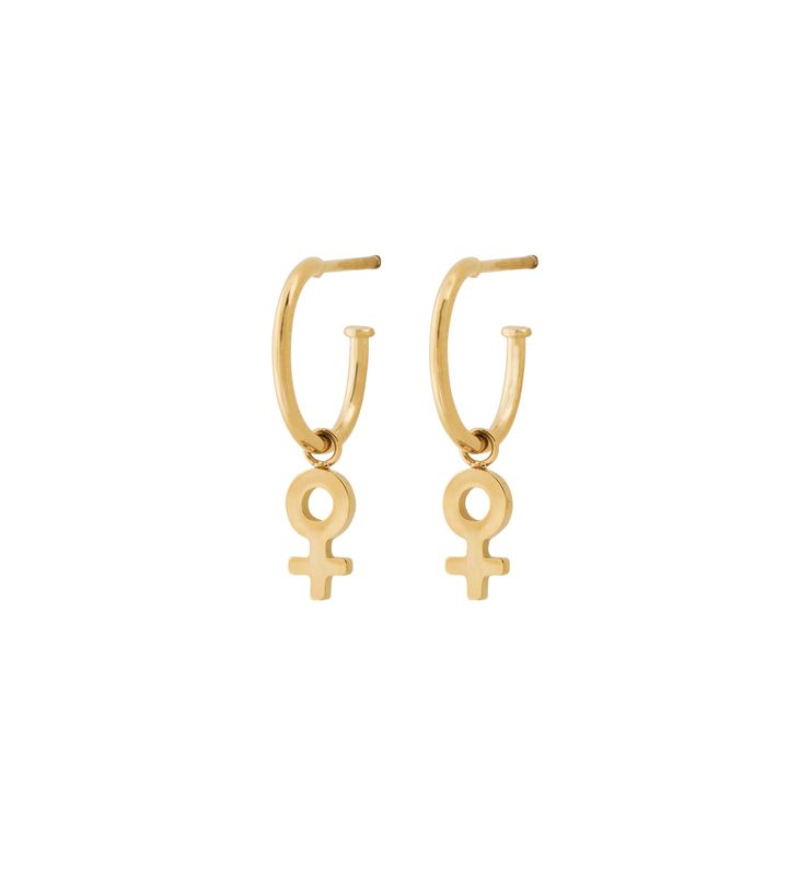 Me Mini Earrings Gold