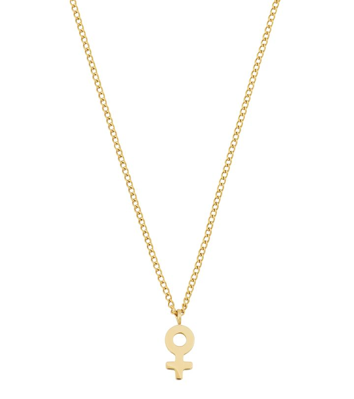 Me Mini Necklace Gold