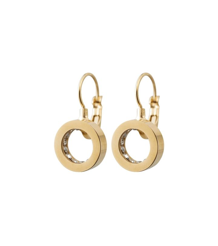 Monaco Earrings French Hook Gold